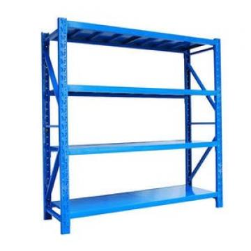 Freely Adjustable injection mold shelving for storage rack