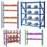 Industrial Warehouse Storage Heavy Duty Metal SeAlect Pallet Racking System