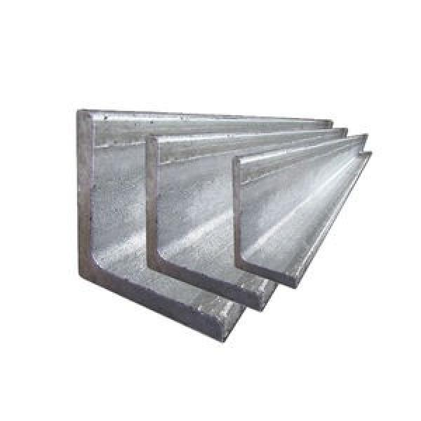 Hot Rolled Deformed Slotted Stainless Steel Angle Bar #1 image